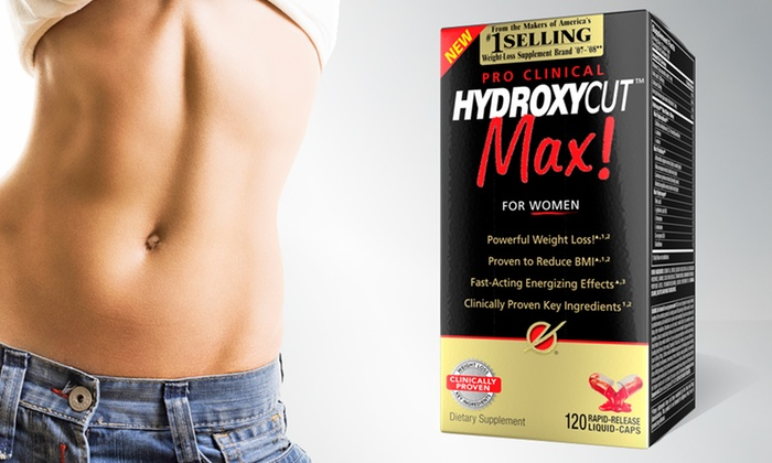 Hydroxycut Max Pro Clinical for Women Weight-Loss Supplement: 60-Serving Bottle of Hydroxycut Max Pro Clinical for Women Weight-Loss Supplement. Free Shipping.