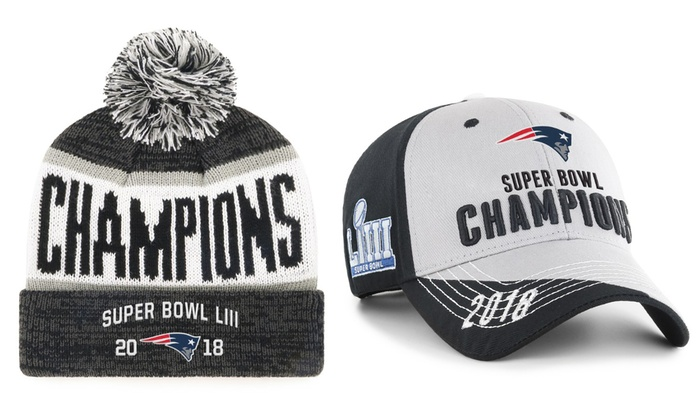 c8ead801 Up To 20% Off on NFL New England Patriots Hats   Groupon Goods