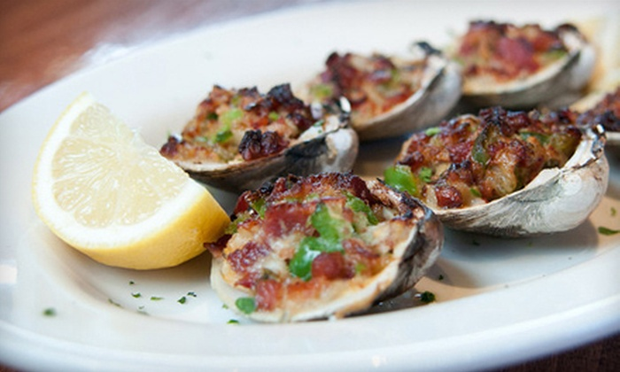 Biggie's Clam Bar - Hoboken: Oysters or Clams with Martinis for Two or Four at Biggie's Clam Bar in Hoboken (Up to 53% Off)