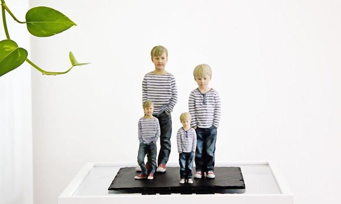 lebensechte 3d miniaturfigur 3dyourbody groupon. Black Bedroom Furniture Sets. Home Design Ideas