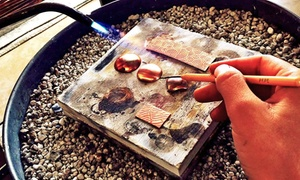 Meltdown Studio: Introduction to Small Metals Jewelry Class for One or Two at Meltdown Studio (Up to60% Off)