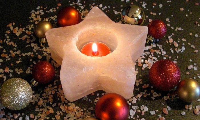 Salt Mine Arium, LLC - Bellevue: $7 for a Himalayan-Salt Candle Holder at Saltminearium, The Salt Spa ($14.95 Value)