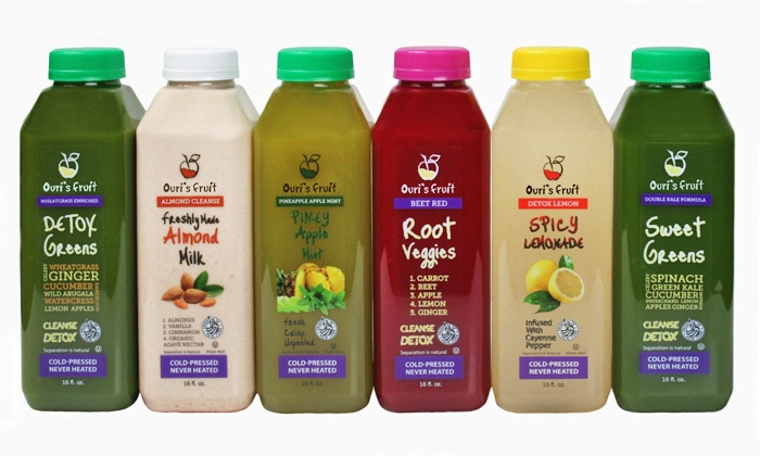Ouri's Fruit - Gravesend: $99 for Three-Day Juice Cleanse from Ouri's Fruit ($204 Value)