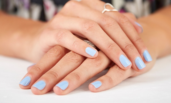 OH LA LAC - Sunnyside: Gel Manicure and Pedicure or Two Gel Manicures with Gel Removal  at Oh La Lac (Up to 52% Off)