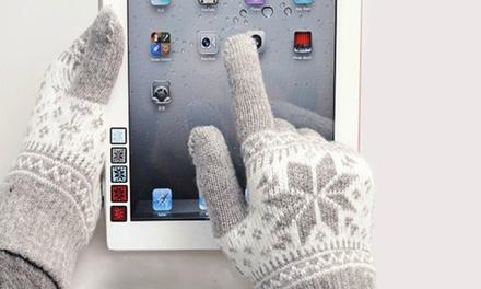 1 of 2 paar handschoenen voor smartphone vanaf € 9,99 tot korting