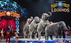 Ringling Bros. And Barnum & Bailey Presents œlegends� (up To 31% Off). Five Showtimes Available, September 25-28