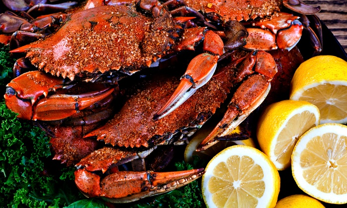 Vince's Crab House - Middle River: $11 for Two Groupons, Each Good for $10 Worth of Seafood at Vince's Crab House ($20 Total Value)