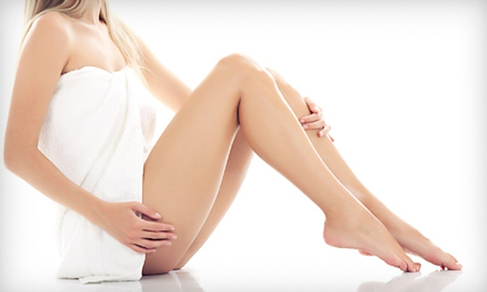 Aphrodite Advanced Esthetic & Skin Care Clinic - McLean: $139 for Spider-Vein Laser Treatment for Up to Five Veins at Aphrodite Advanced Esthetic & Skin Care Clinic ($300 Value)