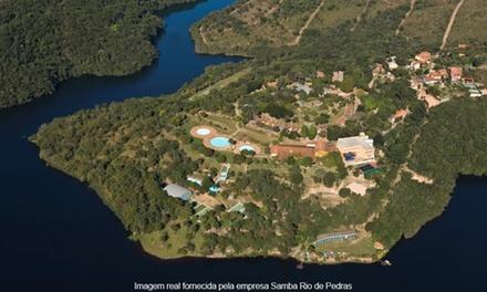 Itabirito/MG: 2, 3, 4 ou 5 noites para 2 + pensão completa no Samba Rio de Pedras