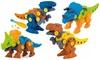 1x oder 4x Dinosaurier-Spielzeug zum selber Aufbauen