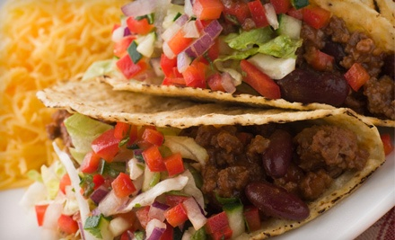 Mexican Dinner for Two or Four with Appetizers, Entrees & Drinks at Hacienda Mexicali Mexican Restaurant (Up to 52% Off)
