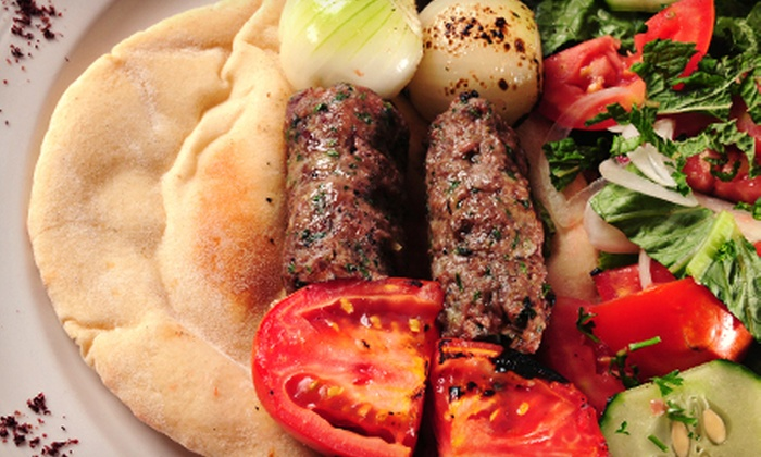 Cedars of Lebanon - Salt Lake City : Middle Eastern Cuisine at Cedars of Lebanon Restaurant (Half Off). Two Options Available.