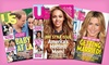 """One-Year Subscription to """"Us Weekly"""": $34 for a One-Year, 52-Issue Subscription to """"Us Weekly"""" ($69.95 List Price). Free Shipping."""