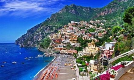 ✈ Italie - Amalfi : 4 ou 7 nuits en hôtel 4* avec pdj, location de voiture et vols A/R depuis Paris Orly ou Marseille