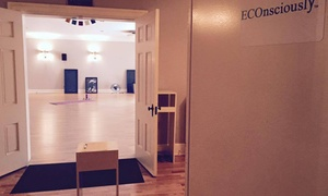 Econsciously Yoga: Two Yoga Classes at ECOnsciously (65% Off)