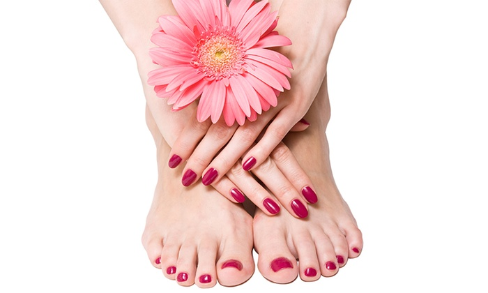 Diane from Body Spa - Henderson: Mani-Pedi, or Shellac Manicure with Optional Deluxe Pedicure from Diane from Body Spa (Up to 71% Off)