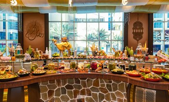 Iftar Buffet with Drinks: Child (AED 59), Adult (AED 115)