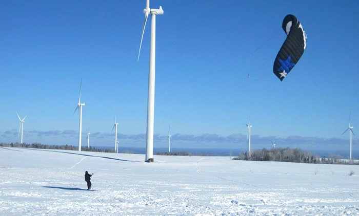 Kite Club NY - Multiple Locations: Beginner Snowkiting Class for One or Two at Kite Club NY (Up to 52% Off)