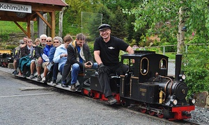 Miniaturpark Die Kleine Sächsische Schweiz: Eintritt für Zwei oder eine Familie in den Miniaturpark Die Kleine Sächsische Schweiz (bis zu 27% sparen*)