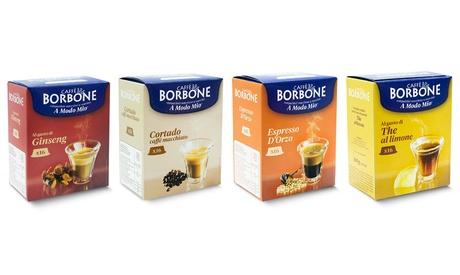 Fino a 128 capsule di caffè Borbone compatibili Lavazza A Modo Mio