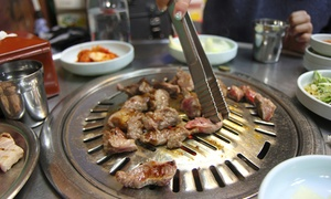 Woomi Garden: Japanese and Korean Cuisine at Woomi Garden (Up to 51% Off). Two Options Available.