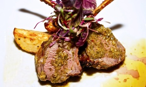 Kefi Lounge: Mediterranean Dinner for Two, Four, or Eight with Wine at Kefi Lounge (Up to 46% Off)