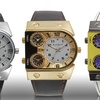 Auguste Jaccard 3-Time-Zone Travers Collection Men's Watches