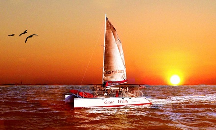 $35for a 2-Hour Twilight or Sunset Cruise with Snacks and Drinks from Playtime Watersports ($75Value)