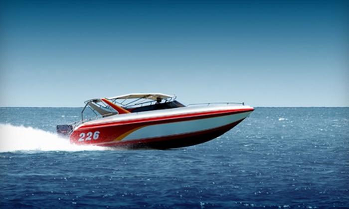 Lynn Creek Marina - Grand Prairie: Four-Hour Pontoon- or Ski-Boat Rental from Lynn Creek Marina in Grand Prairie (Up to 57% Off)