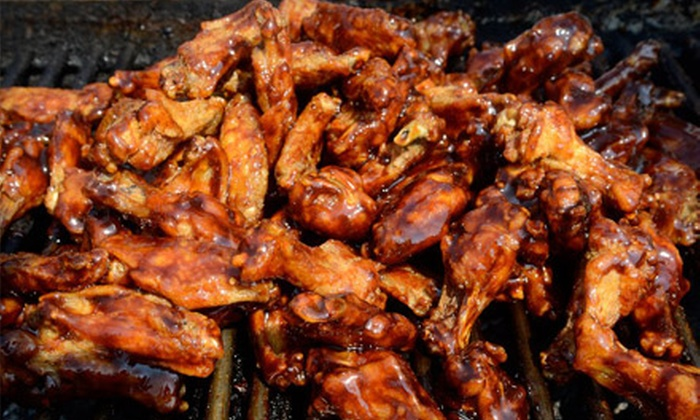 National Buffalo Wing Festival - Central Business District: Two or Four One-Day Admissions Plus $5 Food Voucher for Each Entry to the National Buffalo Wing Festival (45% Off)