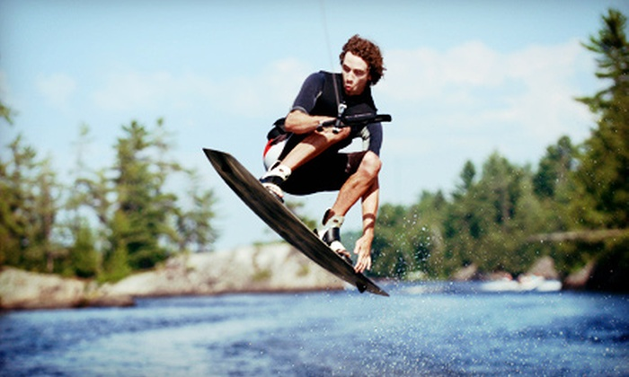 Maine Wakesports, LLC - Sabattus: Half- or Full-Day Boat Charter and Beginners' Wakeboarding Lesson for Up to Two at Maine Wakesports, LLC (Up to 57% Off)