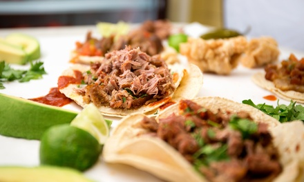 20 Specialty Tacos for Dine-In or Carry-Out or Tex-Mex Food for Two or Four at Taco Kitchen (Up to 50% Off)