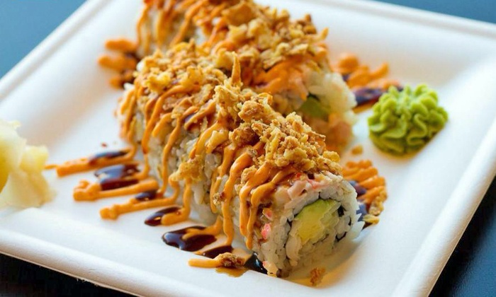 Nomzilla - Edgehill: Lunch or Dinner Vouchers for Sushi, Noodles, and Seafood at Nomzilla (45% Off)