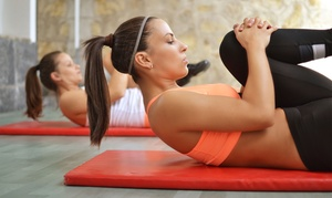 Pilates Aligned: 5 or 10 Pilates Mat or Yoga Classes at Pilates Aligned (Up to 54% Off)