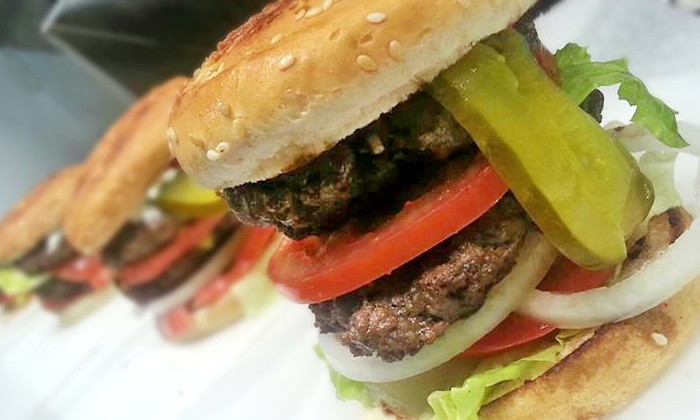 My House Burgers - Sheepshead Bay: Two or Four Burger Meals with Fries and Drinks at My House Burgers (45% Off)
