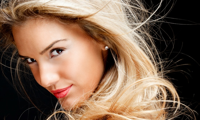De Novo Salon - Wakefield: Haircut and Keratin Blowout with Option of Full-Color Treatment, or Three Eyebrow Waxes at De Novo Salon (Up to 64% Off)
