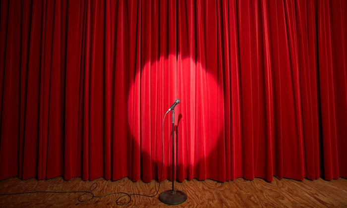 EastVille Comedy Club - Eastville Comedy Club: Standup with Popcorn for Two or Four at EastVille Comedy Club (Up to 77% Off)