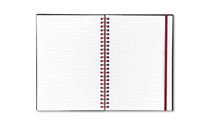 Black 'n Red Twin-Wire Notebook: Black 'n Red Twin-Wire Notebook. Free Returns.