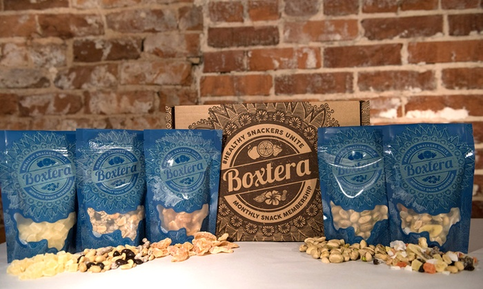 Boxtera - Atlanta: $14 for a One Time Discovery Box of Delivered Snacks from Boxtera ($24.95 Value)