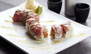 Jade Eatery & Lounge: Asian Cuisine and Cocktails for Two or Four on Weekdays or Weekends at Jade Eatery & Lounge (Up to 47% Off)
