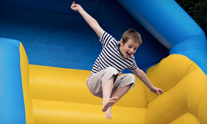 Happenings Family Fun Center - Palatine: Open-Jump Session for Two, Four, or Six at Happenings Family Fun Center (Up to 57% Off)
