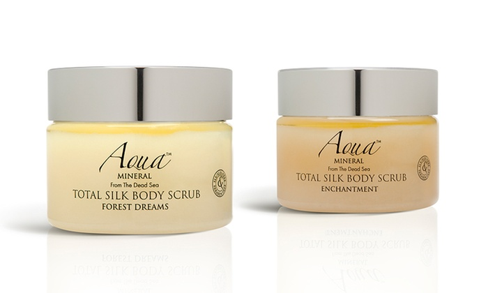 Aqua Mineral Total Silk Body Scrub