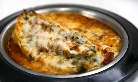 Wings, Lasagna, Pizza, and Salads at Fletcher's (Up to 50% Off). Two Options Available.