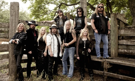 Lynyrd Skynyrd at DTE Energy Music Theatre on Saturday, August 29, at 8 p.m. (Up to 47% Off)
