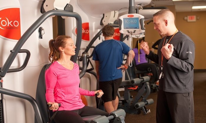 Koko FitClub - Multiple Locations: $19 for Six Guided Training Sessions at Koko FitClub ($48 Value). Two Locations Available