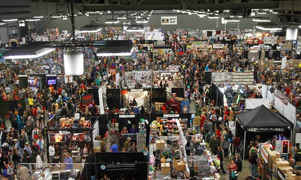 $20 for the Louisville Comic Con on Friday, March 28 ($39.87 Value)