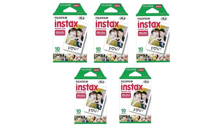 Fujifilm Instax Mini Instant Film (5-Pack)