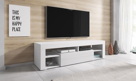 meuble tv titan groupon shopping. Black Bedroom Furniture Sets. Home Design Ideas
