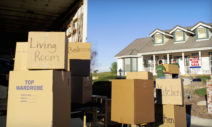 My Universal Movers - Avery West: Two, Three, or Four Hours of Moving Services from My Universal Movers (Up to 62% Off)
