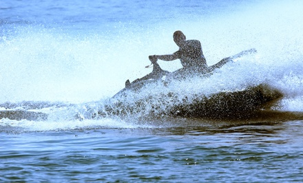 One or Two Jet Skis for One-Hour Rental from Action Water Sports (Up to 51% Off)